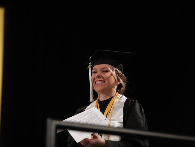 Ciana Rose, an economic development graduate from Stevens