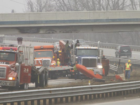 8 Mile US 23 overpass crash 01 jpg