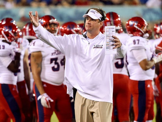 No. 21 FAU 2017 record: 11-3 The buzz: Lane Kiffin