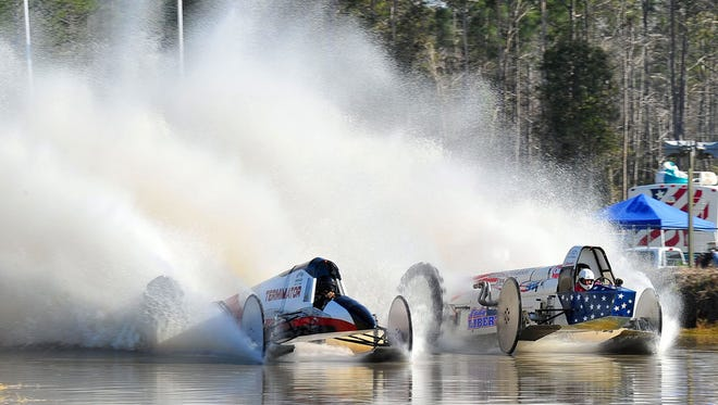 The Winter Series Swamp Buggy Races have been cancelled due to standing water at the Florida Sports Park.