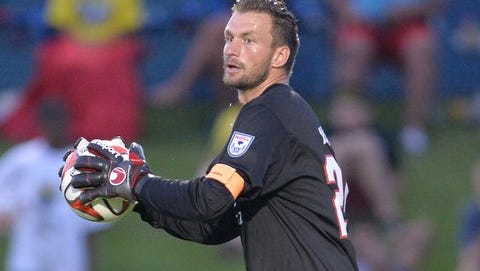 Former Rhinos goalkeeper Kristian Nicht had his contract with the NASL's Indy Eleven transferred on Monday to the Montreal Impact.