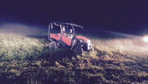 An Evanston man was found dead at the scene of a crash in Spencer County after the off-road vehicle he was driving left the road and flipped over.