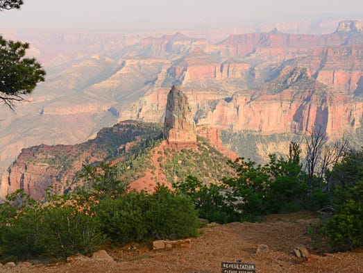 Scenic view from Point Imperial, Grand Canyon National