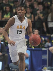 University Heights Academy senior KyKy Tandy had a game-high 44 points in a victory over Reitz at the Bosse Winter Classic.