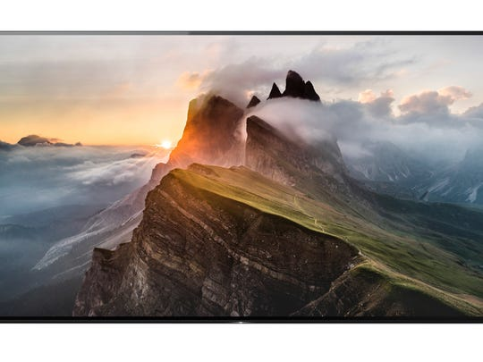 The Sony XBR-A1E Bravia, the company's first consumer