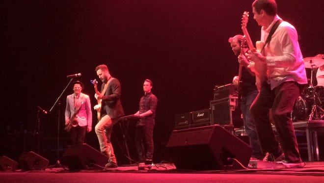 Kyle Megna and the Monsoons perform at the WAMI Awards in Appleton in 2016.