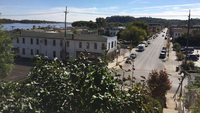 Main Street in Hannibal, Mo.