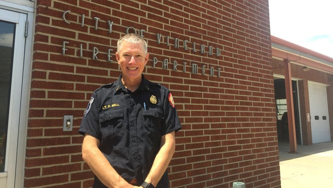 Vineland Firefighter Lt. David Bell is scheduled to be promoted Friday to the rank of captain.