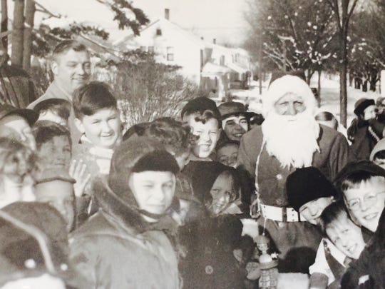 An archive photo of Santa Claus' annual visit to Wausau shared by the Marathon County Historical Society.
