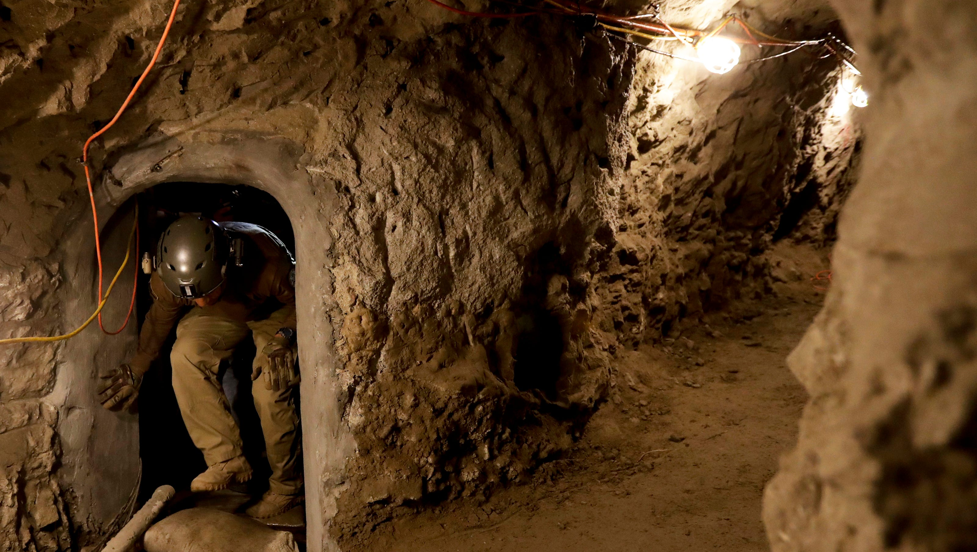 Amid border-wall debate, third drug tunnel found in less than a month in Nogales