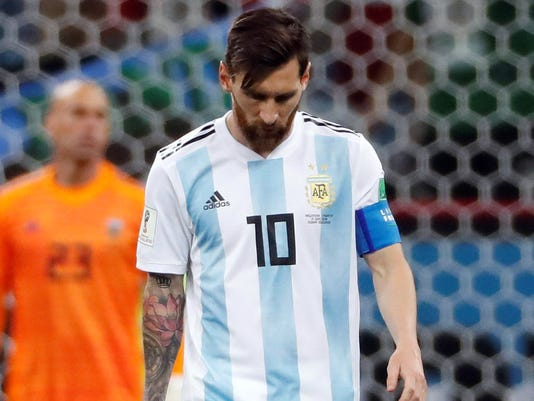 Soccer: World Cup-Argentina vs Croatia
