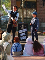 Eugene Clark's escape show and magic show will be featured at this year's festival.