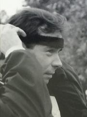 Ed Sponseller, a former superintendent with the Chambersburg Area School District, prepares for his first marathon, the Marine Corps Marathon, in 1983. Sponseller lost his battle with lymphoma earlier this year.