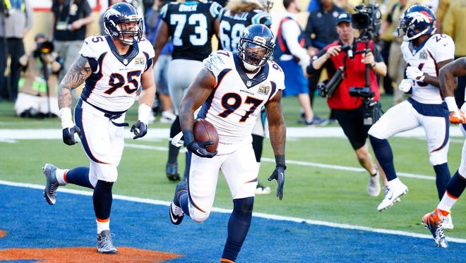 Malik Jackson (97) is the top free agent on the market according to NFL.com.
