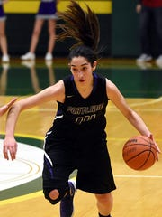 Portland High junior forward Mackenzie Trouten scored 16 points in the Lady Panthers' 74-54 win over Gallatin on Thursday evening.