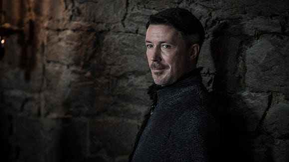 Littlefinger believes he has expertly manipulated Sansa and Arya, but they have learned a lot over the last few seasons. (Episode 7)