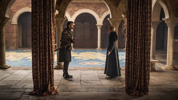 Jaime and Cersei on 'Game of Thrones.'