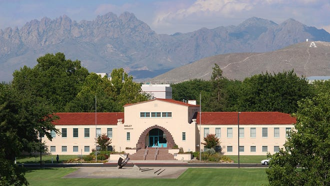 New Mexico State University's Hadley Hall, where the university's Human Resource Services department is located. 2018 file photo.