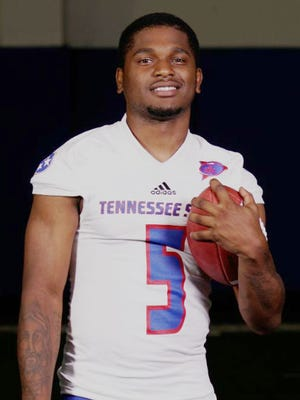Treon Harris, who started in a total of 21 games at Florida, is Tennessee State's new starting quarterback.