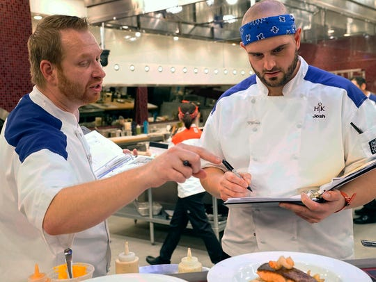 Contestants Benjamin (from left) and Josh in the all-new