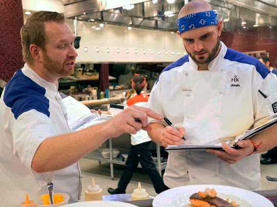 Josh Trovato On Fox S Hell S Kitchen All Stars With Gordon