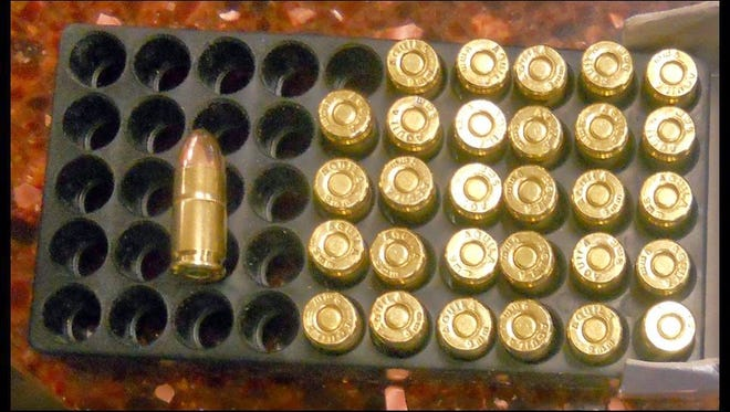 Ammunition found in a carry-on bag at Phoenix Sky Harbor International Airport