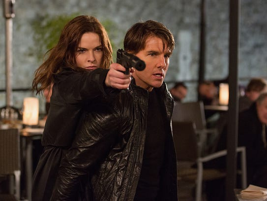 Tom Cruise meets his match in Rebecca Ferguson in the