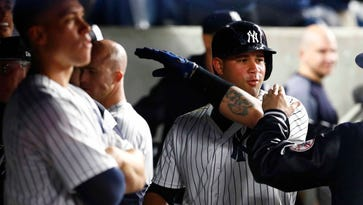 Gary Sanchez is heating up after belting two home runs for streaking NY Yankees