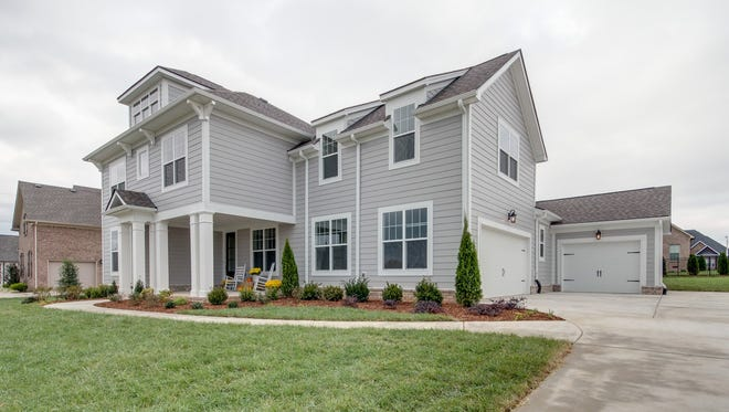 An example of Davidson Homes' work in Murfreesboro's Wynthrope Hall subdivision, where prices are in the $400,000s. In Gallatin's Liberty Creek neighborhood, prices will start in the upper $200,000s.