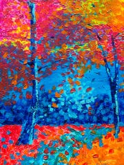 Paintings are among the works featured at the Weaverville Art Safari, April 29-30.