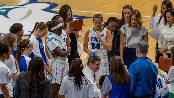 FGCU coach Karl Smesko spent part of this week prepping his top-ranked mid-major team for Saturday's home game against NJIT, of course. But he also used it to push the Eagles to improve, even after last Saturday's really impressive home win against Stetson.
