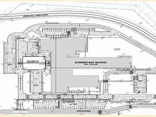 Rocky Fork Elementary site plan