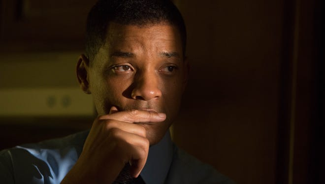 """This image released by Columbia Pictures shows Will Smith in a scene from, """"Concussion."""" After nominations for the 2016 Oscars were announced on Jan. 14, many expressed surprise that the lack of diversity persisted despite the huge backlash a year ago when all acting nominees were white."""