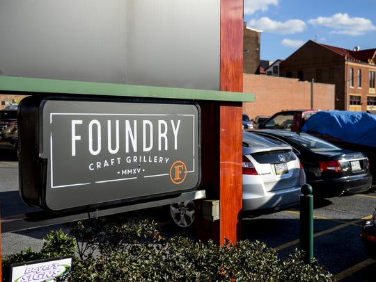 The Foundry Craft Grillery is located on the third