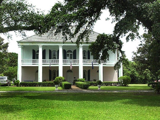 The Chretien Point Plantation in Sunset, built in 1835, is named for Hypolite Chretien Jr. It is said to be haunted by the ghost of an intruder who was killed there.