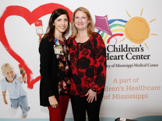 (L-R) Shelly Craft and Stacey Smith of Children's Heart