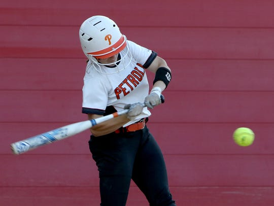 Petrolia senior Lindy Alexander posted insane number with her bat, including a .667 batting average, 64 RBIs and 67 runs.