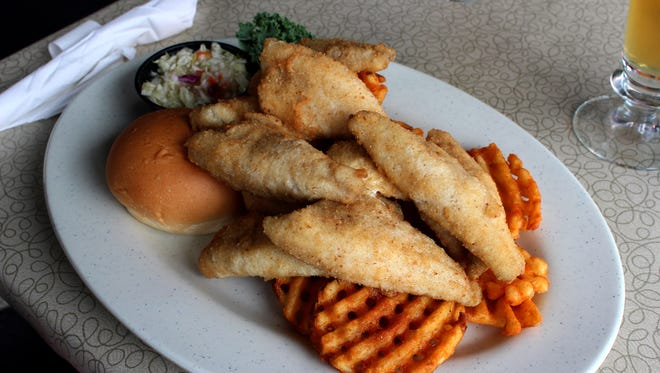 """The bluegill plate at Stolley's Hogg Alley in Oconomowoc is one of the stars of Ron Faiola's new documentary, """"We're Here for a Fish Fry!"""""""