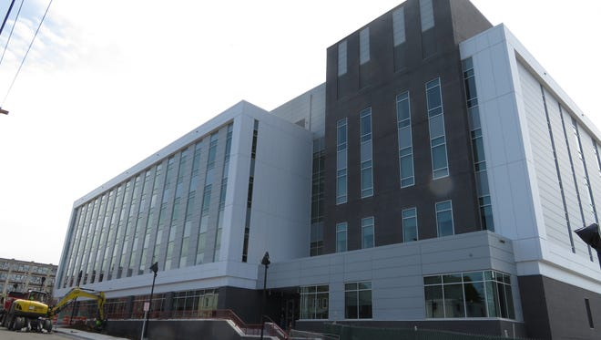 Faculty and staff move-in day at Binghamton University new pharmacy school building in Johnson City is scheduled  July 9, 2018.