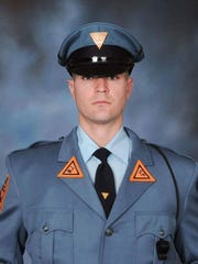 New Jersey State Police Trooper Eli McCarson died in an on-duty traffic accident on Dec. 17.
