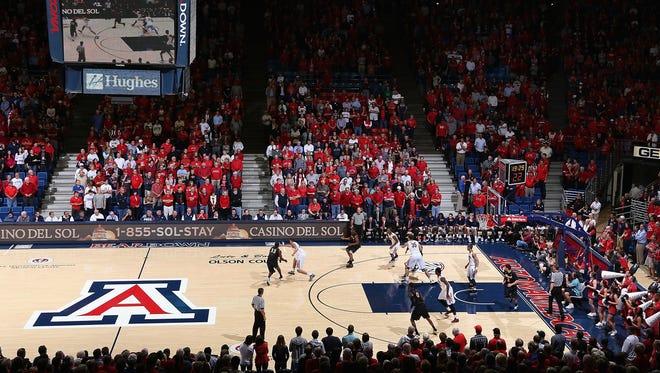McKale Center in Tucson.