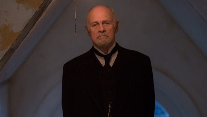 "Gerald McRaney stars in the horror movie ""The Disappointments Room."" He just looks scary, doesn't he?"