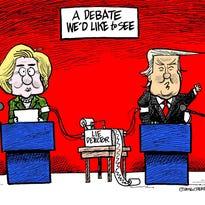 Editorial cartoon, 9/26