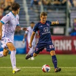 Rookie forward David Goldsmith carving out role with Indy Eleven