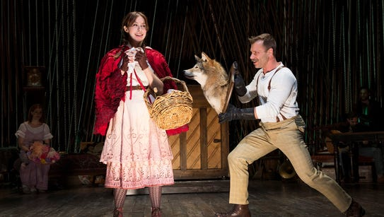 """The Stephen Sondheim musical """"Into The Woods"""" is currently"""