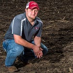 UW-River Falls student Chase Knutson heads back to the family farm