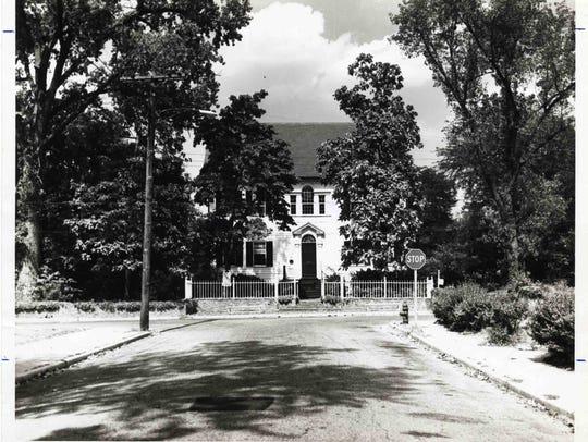 c.1950, Poplar Hill Mansion.