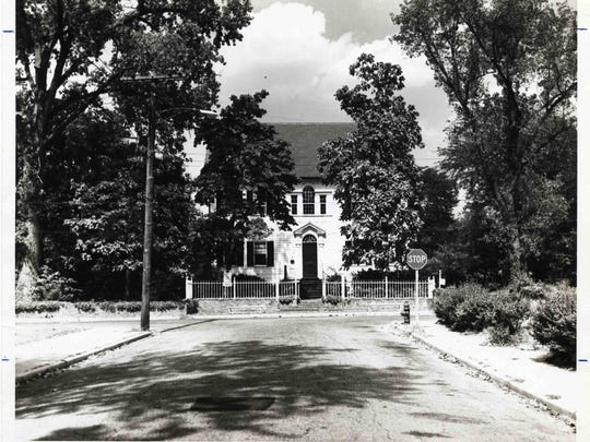 c.1950, Poplar Hill Mansion.