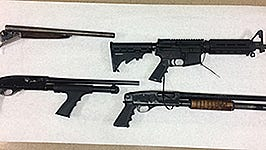 Authorities confiscated guns and made three arrests Thursday while investigating a March 3 shooting in Coachella. A juvenile was arrested on suspicion of attempted murder.