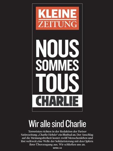 Kleine Zeitung from Graz, Austria.